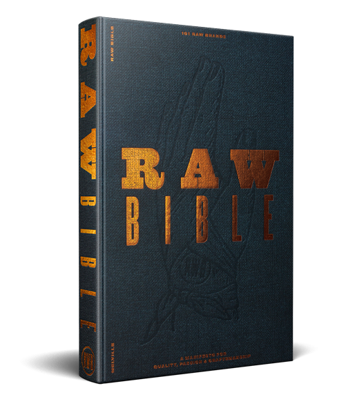 raw denim bible quality goods