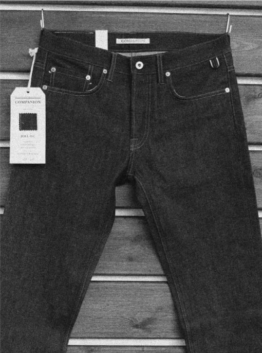 Companion Denim raw selvedge denim
