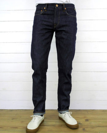Companion Denim Joel 010A style 13.5 Oz. Organic cotton + natural indigo selvedge denim,