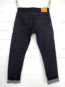 Companion Denim Joel 010A style 13.5 Oz. Organic cotton natural indigo selvedge denim leather patch