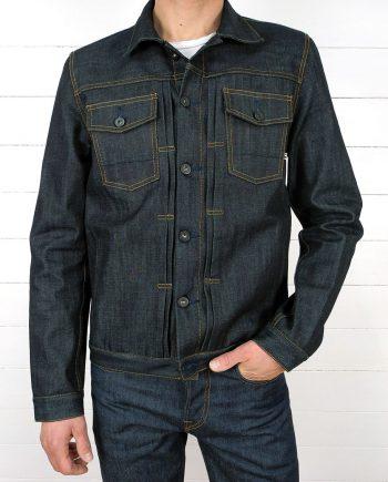 Companion Denim Type III raw selvedge denim jacket perfect fit