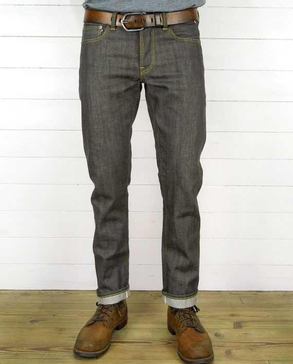 Companion Denim Joel 011KA style brown japanese selvedge denim jeans