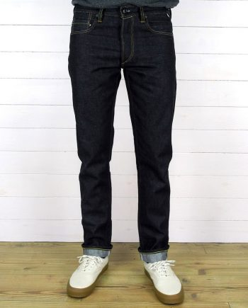 Companion Denim Joel 012N selvedge denim rainbow color core