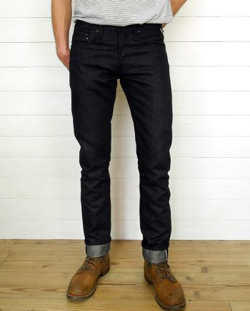 Companion Denim Joel 08CA2 style 14Oz. Deep blue hemp selvedge denim