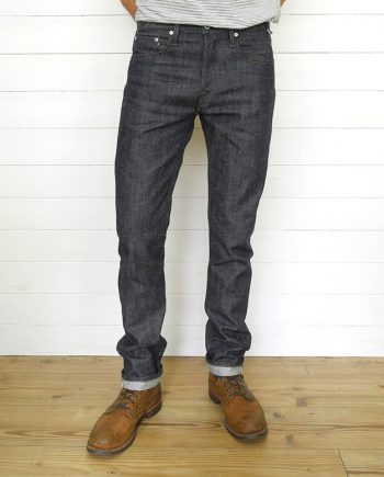 Companion Denim Jan 06CA style Branded silver buttons and rivets neppy pure indigo selvedge