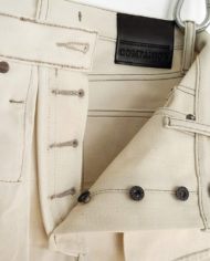 Joel 014I ECRU BULL SELVEDGE DENIM