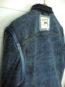 Companion Denim Type III jacket natural indigo overdyed, raw selvedge denim, binded arm sleeves, selvedge hanger