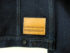 Companion Denim Type III jacket natural indigo overdyed, raw selvedge denim, leather patch
