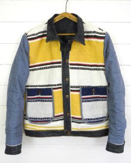 Blanket jacket insideout