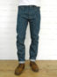 Companion Denim Jan 04KN style 14 Oz. Super slubby 70´s green cast, selvedge denim, front side single needle construction