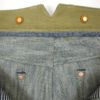 Companion Denim Jan 04KN style 14 Oz. Super slubby 70´s green cast, selvedge denim, tan duck canvas