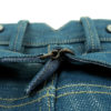 Companion Denim Jan 04KN style 14 Oz. Super slubby 70´s green cast, selvedge denim, cinch back