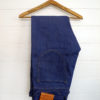 Companion Denim Jan 02CO style 12 Oz. 70´s blue, pink selvedge denim, engraved leather patch