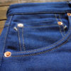 Companion Denim Jan 02CO style 12 Oz. 70´s blue, pink selvedge denim, peek a boo selvedge coin pocket