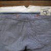 Companion Denim Jan 02CO style 12 Oz. 70´s blue, pink selvedge denim, split waistband with teadrop stitch