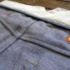 Companion Denim Jan 02CO style 12 Oz. 70´s blue, pink selvedge denim, hand felled seams