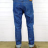 Companion Denim Jan 02CO style 12 Oz. 70´s blue, pink selvedge denim cinch back