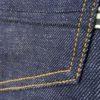 Companion Denim Joel 010A style 13.5 Oz. Organic cotton natural indigo selvedge denim nerve embroidery