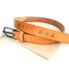 Companion Denim Belt 01H 10 oz. Vegetable tanned leather from Hermann Oak.