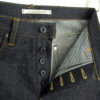 Companion Denim Joel 012N style selvedge denim chainstitched buttonholes