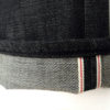 Companion Denim Joel 01I style black raw selvedge denim Italy
