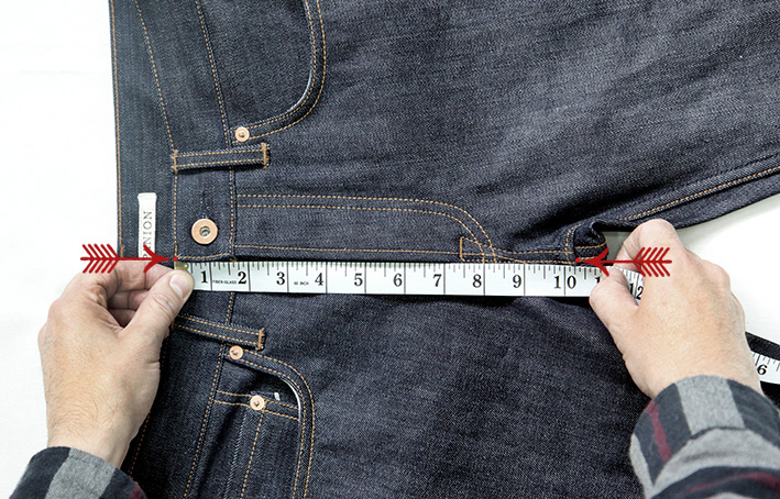 how to measure, waist, front rise, back rise, best fitting