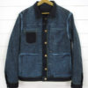 Companion Denim Type III jacket natural indigo overdyed raw selvedge denim