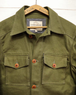 FIELDJACKETGREEN-fronthalf