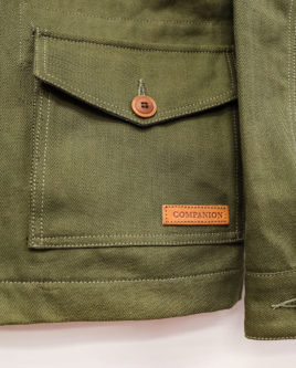 FIELDJACKETGREEN-pocketcuff