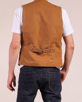 Viena Vest Brown-33-S